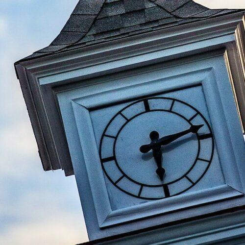 college clocktower