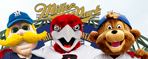rally with brewers characters